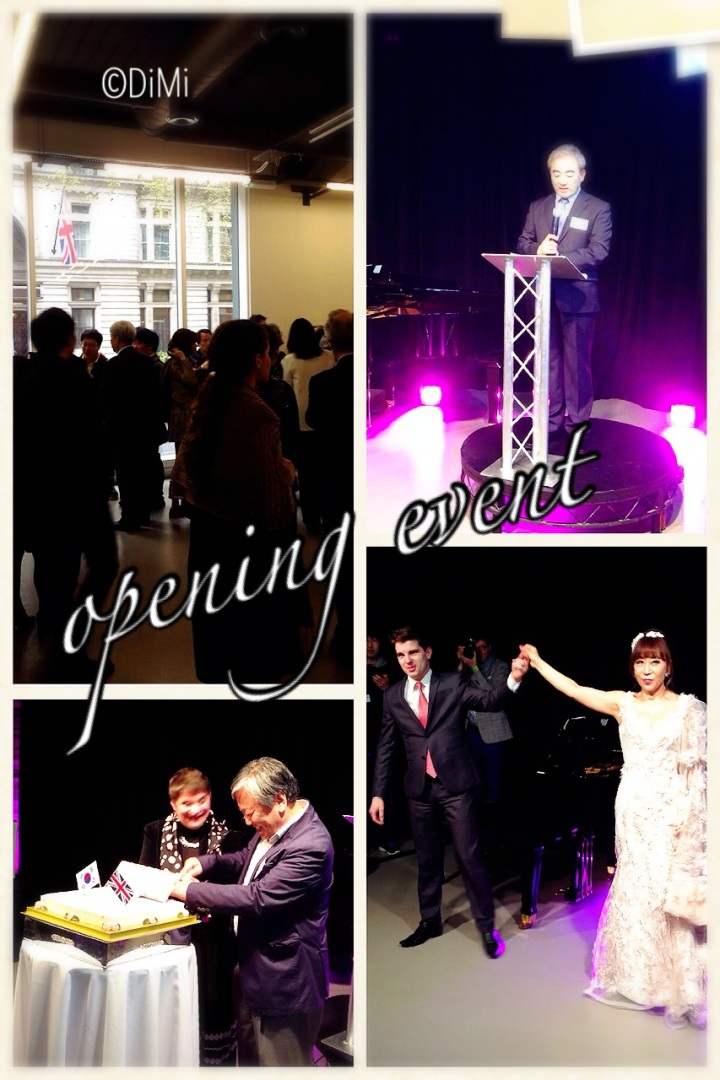 London Korea Market Focus, opening event at the KCC 7th April 2014.