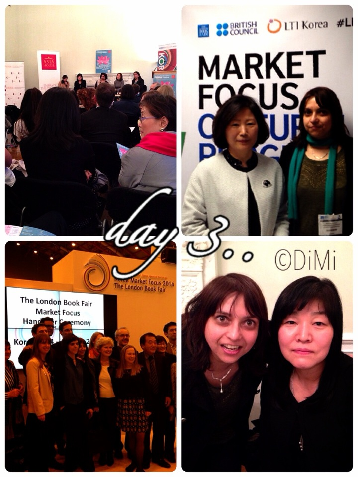 Day Three: London Book Fair Korea Market Focus in Pictures