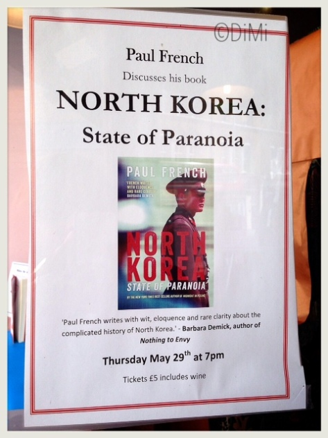 Paul French discusses his book tonight at Daunt Book Shop, 158-164 Fulham Rd, London SW10 9PR