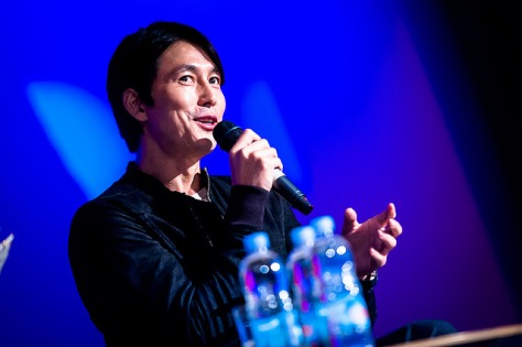 Jung Woo Sung at the LKFF 2014, Image courtesy of the Korean Cultural Centre, UK